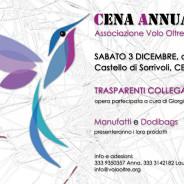 Cena Annuale Volo Oltre, sabato 3 dicembre, ore 20:00, Castello di Sorrivoli, Cesena