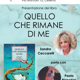 Quello che rimane di me, presentazione con Sandra Ceccarelli e Paola Bianchini